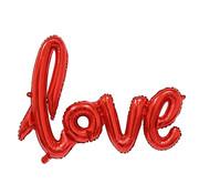 Joni's Winkel Folieballon LOVE Rood 108x64 cm