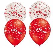 Joni's Winkel Ballonnen I love you 10 stuks 29 cm