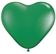 Joni's Winkel MEGA Topping hart ballon 80 cm Groen