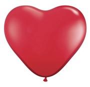 Joni's Winkel MEGA Topping hart ballon 90 cm rood