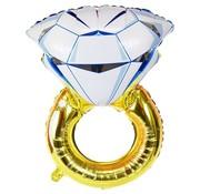 Joni's Winkel Folieballon Ring 110x60 cm