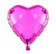 Joni's Winkel Folieballon hart metallic 45 cm