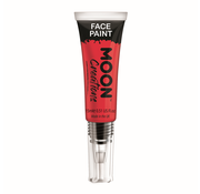 Moon Creations Moon-Creations Body & Face paint met kwast Rood