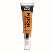 Moon Creations Moon-Creations Body & Face paint met kwast Oranje