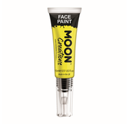 Moon Creations Moon-Creations Body & Face paint met kwast Geel