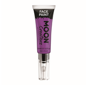 Moon Creations Moon-Creations Body & Face paint met kwast Paars