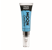 Moon Creations Moon-Creations Body & Face paint met kwast Sky blue