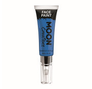Moon Creations Moon-Creations Body & Face paint met kwast Blauw