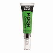 Moon Creations Moon-Creations Body & Face paint met kwast Groen