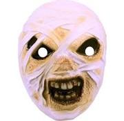 Folat Plastic mummie masker