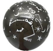 Joni's Winkel Ballonnen Halloween Zwart-wit/ Wit-zwart 30 cm 8 stuks