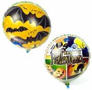 "Joni's Winkel Folie ballon ""Happy halloween vleermuis"" 45 cm"