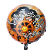 "Joni's Winkel Folie ballon ""happy halloween skelet"" 45 cm"