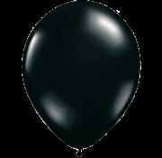 PartyXplosion Ballonnen zwart 50 stuks 31 cm