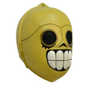 Ghoulish productions Masker Día de los Muertos robot voor volwassenen