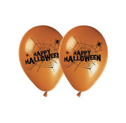 Amscan Ballonnen Happy halloween 30 cm 8 stuks