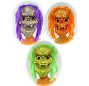Satan masker glitter fluor
