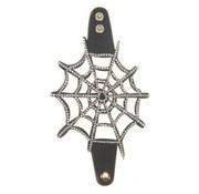 PartyXplosion Armband skai strass spinnenweb