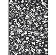 Folat Tafelkleed 130X180 cm doodshoofdjes