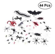 Joni's Winkel Decoratie Enge beestjes 44 stuks ( Spinnen, Vliegen, Mieren )