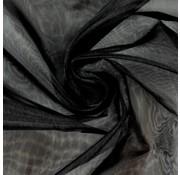 Joni's Winkel Organza/Tule 48x500 cm zwart