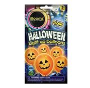 Illooms Illooms halloween pompoen 23 cm 5 stuks