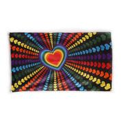 Joni's Winkel Gevelvlag Regenboog hartjes 90x150 cm