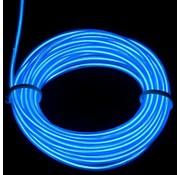 Joni's Glow-Shop EL Wire / Draad - blauw / Blue 10 M- met 230 volt aansluiting