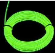Joni's Glow-Shop EL Wire / Draad - groen / Green 100 M- met 230 volt aansluiting