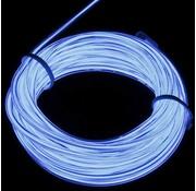 Joni's Glow-Shop EL Wire / Draad - Wit / White 1 meter