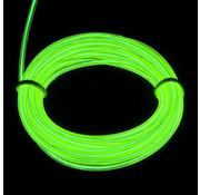 Joni's Glow-Shop EL Wire / Draad - Groen/ Green - met 12 volt omvormer 1 meter
