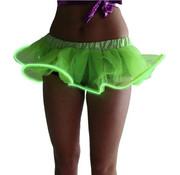 Joni's Glow-Shop El wire tutu rokje Groen - El wire tutu skirt Green