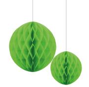 Joni's Winkel Honeycomb Decoratie bol Licht groen 20/30 cm