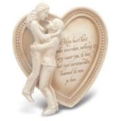 """Miko Arts in Stone Memories """"Ik hou van jou ( Mijn hart )"""""""