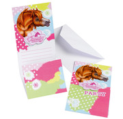 Riethmuller Uitnodigingen Charming Horses 6 stuks