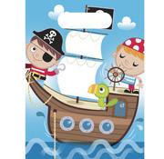 Procos Feestzakjes Piraten schat 6 stuks
