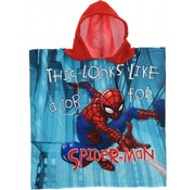"Marvel Badponcho Spiderman ""It's look like a jab"""