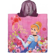 "Disney Badponcho Princess ""Once upon a time"" Roze"