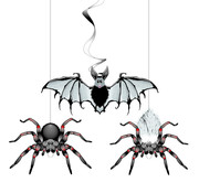 Haza Original Hangdeco Spin/Vleermuis 3 stuks