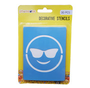 Phonicons Stencils Smiley 30 stuks