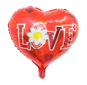 Joni's Winkel Folieballon I love you flower 45x45 cm