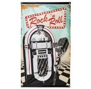Folat Gevelvlag Rock 'n Roll 90 x 150 cm