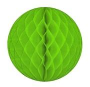 Folat Honeycomb Decoratie bol Licht groen 50 cm