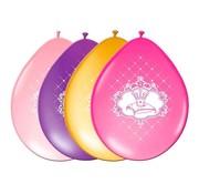 Folat Ballonnen Prinsessen 6 stuks 30 cm