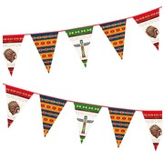 Folat Vlaggenlijn Indians 6 meter