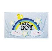 Boland Gevelvlag Baby boy 90 x 150 cm