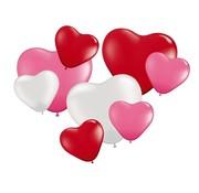 Folat Ballonnen hartjes 8 stuks