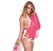 Boland Sjaal See-through neon roze 160 cm