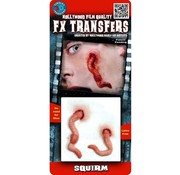 Tinsley Transfers Tinsley Horror 3D Tattoo Larven wonden ( Squirm )