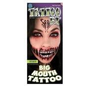 Tinsley Transfers Tinsley Tattoo FX - Big Mouth Tattoo - Demon